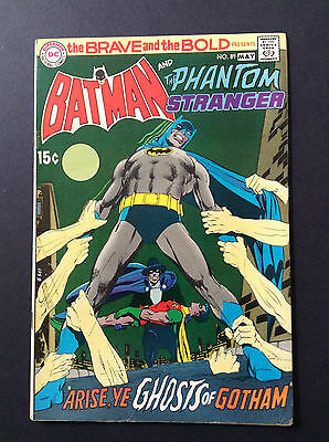 The Brave and the Bold Comic Book #89, DC Batman and Phantom Stranger 1970 FINE