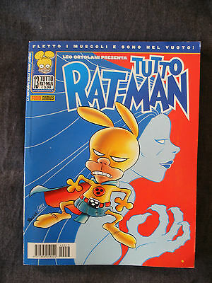 Leo Ortolani RAT-MAN tutto RAT MAN n 13 fumetto panini comics