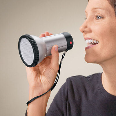 NEW ~ Small Megaphone Bullhorn Loud Speaker Amplifier