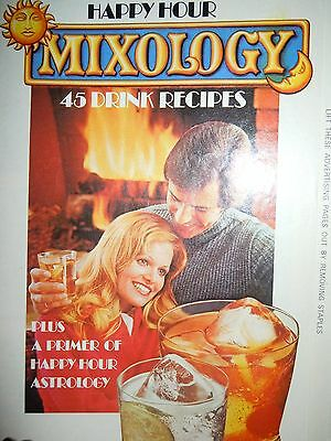 Vintage Happy Hour Mixology 45 Drink Recipes Southern Comfort Booklet