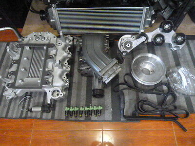 FORD F150 F250 Expedition 5 4 Svt Lightning Harley Conversion Swap  Supercharger