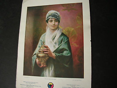 Antique TURKEY 1900 Litho SULTAN'S ODALISQUE-J L Ferris CHAS ENEU - Philadelphia