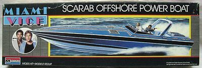 Miami Vice TV Scarab model kits (2) + CESA 1882 Offshore World Racing kit