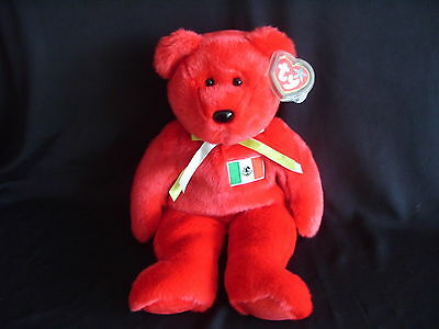 Ty Beanie Buddy Bear Osito - Retired With Tag
