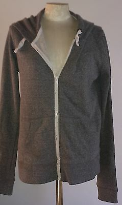 Next Generation-100% Cotton-Grey Marl Casual/Sports Hoodie-Size 14/15 yrs