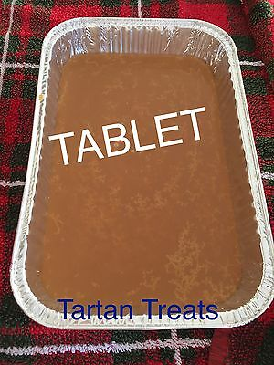 Scottish Tablet Tray Butter Fudge Scotland Lolly Confectionery