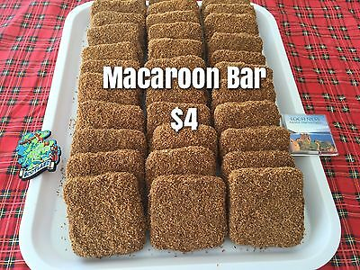 SCOTTISH MACAROON BARS Confectionery Lolly Treats Scotland