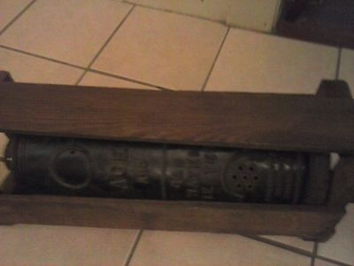 Antique ACE A50 Hot Water Heater Steam Punk ORIGINAL BOX PHILADELPHIA STOVE CO