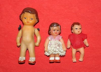 Vintage Collection of GERMAN 3X ARI Dolls