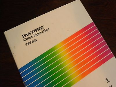 Pantone PMS Color Imaging Specifier 747XR for Coated stocks