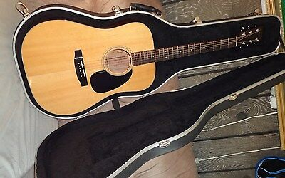 TAKAMINE F-340S Solid Top Acoustic Guitar 1981 Martin lawsuit w/ Case