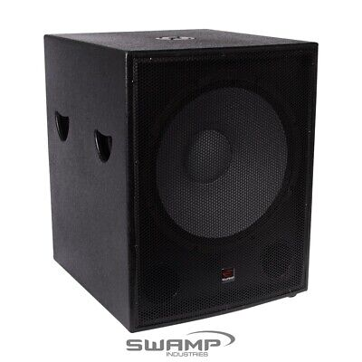 """SWAMP 400W RMS 800W MAX - 18"""" Passive SUBWOOFER / 18 inch PA Sub Speaker"""