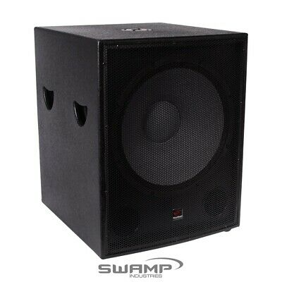 "SWAMP 600W RMS 1200W MAX - 18"" Passive SUBWOOFER / 18 inch PA Sub Speaker"