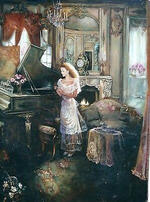 The Diamond by Corinne Layton 24x36 ArtistProof,signed and Numbered Canvas Print