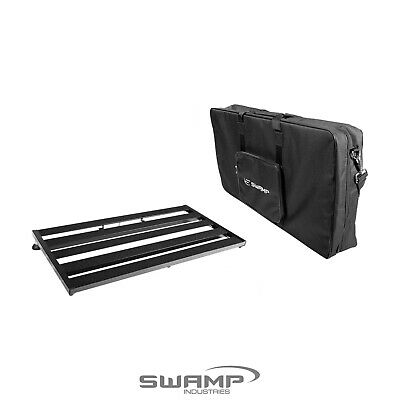 SWAMP Large Guitar Effect Pedal Board Bridge with Padded Carry Bag