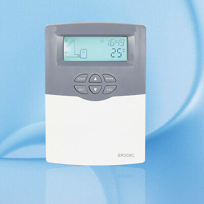 solar water heater controller, for separated pressurized solar hot water SR208C