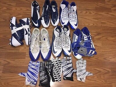 Dallas Cowboys Game Used Worn Nike Cleats Gloves Lot Dunbar Church Whitehead