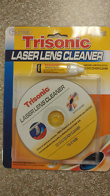 Laser Lens Cleaner CD GAME PLAYER XBOX CD-ROM DVD PS2 Cleaning Liquid Included