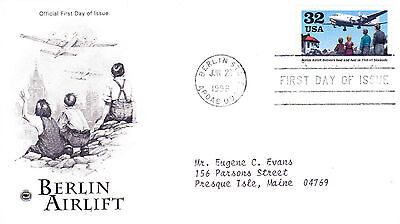 1998 USA Berlin Airlift FDC