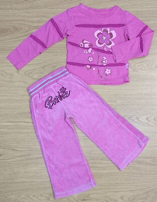 Barbie Girls Outfits Age 3-4 Years Pink Top And Bottom Set