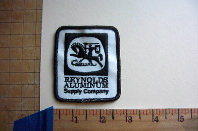 Reynolds Aluminum Supply Co. Vintage Embroidered Patch