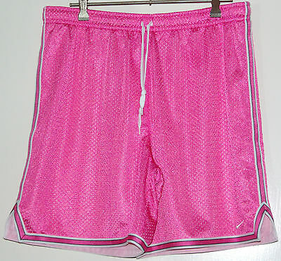 NIKE BASKETBALL SHORTS - PINK.  Size M - Excellent Condition