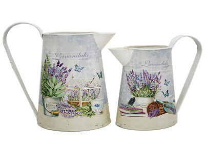 French Country Vintage Inspired Kitchen LAVENDER Jugs Choice of size New