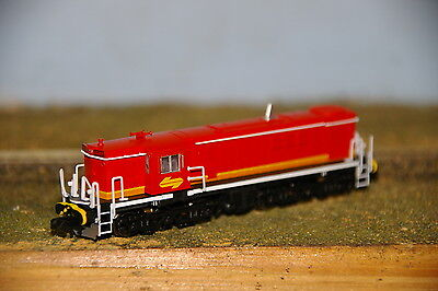 NSWGR - 48 Class Mark 2 - Candy Locomotive - N Scale