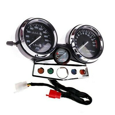 Motorcycle Gauges Cluster ABS Plastic Speedometer Tacho Odometer For Honda CB400