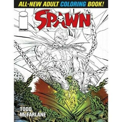 Spawn Adult Coloring Book -  - Coloring Book