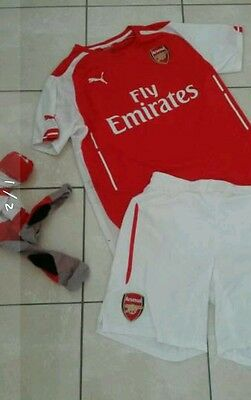 Ensemble football homme ARSENAL  maillot short chaussettes