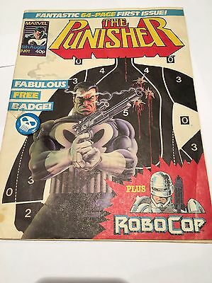 The Punisher Issue 1 Aug 1989 | First Issue