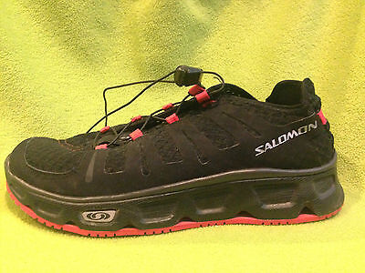 Salomon Water Shoes, Black, Red, 7.5