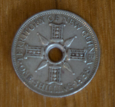 New Guinea One Shilling 1938