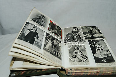 Vintage 1950s Scrapbook, Journal, Ledger w Newspaper Clippings, Theatre, Society