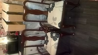 Stunning Pair Of Carver Chairs Ideal Project