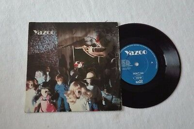 "Yazoo "" Don't Go / Winter Kills"" 7"" Mute Records Uk"