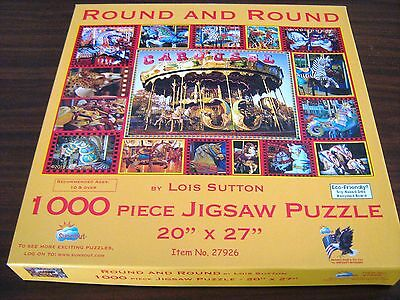 "1000 piece SunsOut Jigsaw - ""Round and Round"""