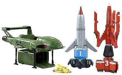 Thunderbirds Are Go! -  Thunderbirds Vehicle Super Set - 4 Toys Included