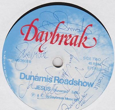 """DUNAMIS ROADSHOW ~ I can fly ~ SIGNED by the BAND  7"""""""