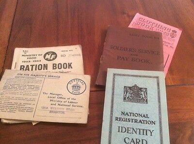 Soldiers Service And Pay Book