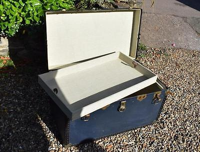 Original Large Mossman Trunk Steamer with Tray