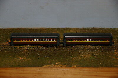 NSWGR - FO Coach Pack - Indian Red - Country - Gopher Models - N Scale