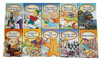 Ladybird Favourite Tales - 10 Book Collection - 1993 Editions - Pinocchio