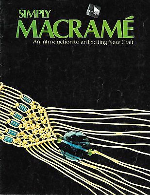 Simply Macrame Pattern and Instruction Booklet