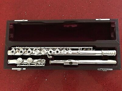 Muramatsu Ad Professional Solid Silver Open-Hole Flute - Lovely Condition