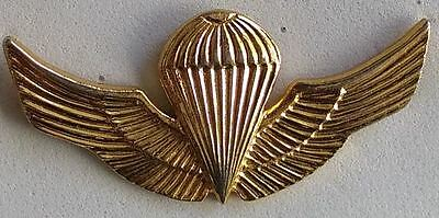 Chile Army Ejercito Pin Wings Parachute