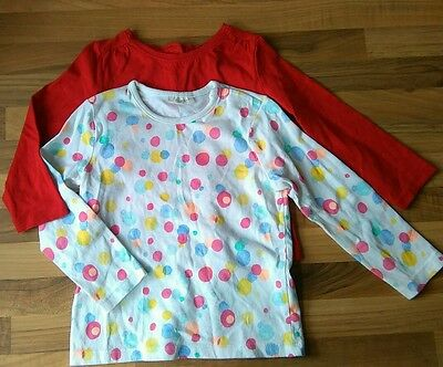 BABY GIRLS 2 X NEXT TOP RED & Bubbles 12-18 MONTHS