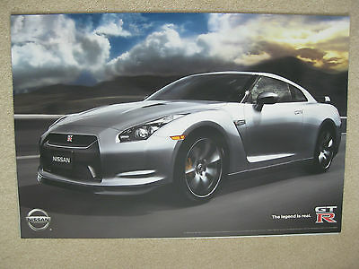2008 Nissan Gtr Gt-R Poster Collectable 24X36 Auto Show Original New And Mint