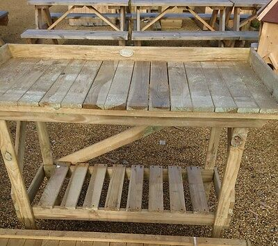 Forest Garden Collection potting bench Pressure Treated Wood 15 year warranty
